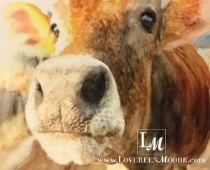Watermarked - Jersey Cow Betty - Lovereen Moore