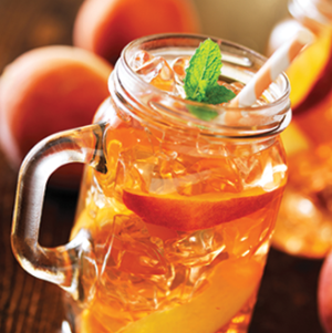 Peach Bourbon Smash